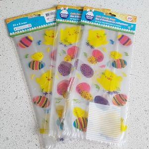60 pcs Easter Treat Bags Favor Bags
